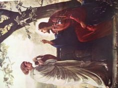 Hope of the Nation The Woman at the Well, was of a different sect and should not have even been seen speaking to Jesus. She gave him water and he gave her everlasting life Everlasting Life, Woman, Water, Painting, Gripe Water, Painting Art, Women, Paintings, Painted Canvas