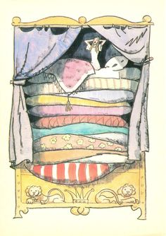 'The Princess and the Pea' (H. C. Andersen)