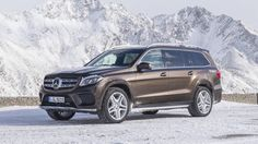 The #GLS gets down and dirty in a way the #SClass never could.