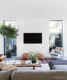 Amber Lewis of Amber Interiors latest California cool work is her most inspiring to date. This stunning Scandinavian inspired Venice home tour takes an inside look at the bright, cheerful, and positively whimsical family home Amber spent the last three years designing to perfection.