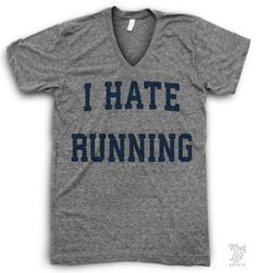 I Hate Running!