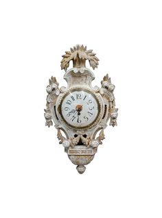 Swedish Rococo Wall Clock