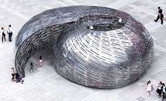 Studio KCA's immersive astronomy shell, the NASA Orbit Pavilion, has travelled from New York and is now on view for the first time on the West Coast in San Marino, California, where The Huntington Library garden provides a new context to listen to the ...