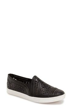 Free shipping and returns on Earth® 'Tangelo' Slip-On Sneaker (Women) at Nordstrom.com. Floral and geometric cutouts lend vintage sophistication to an on-trend slip-on sneaker shaped from soft leather, while multidensity cushioning and arch support ensure all-day comfort.