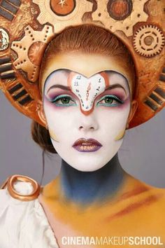 3rd place @ international makeup contest IMATS Los Angeles 2014