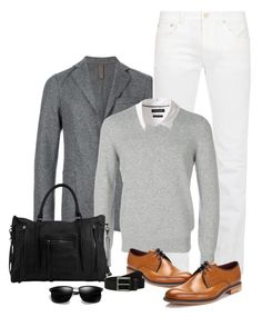 """Menswear"" by nicole-christie-mennen ❤ liked on Polyvore featuring Eleventy, Acne Studios, Brunello Cucinelli, Day & Mood, Banana Republic, Loake, Timberland, men's fashion and menswear"