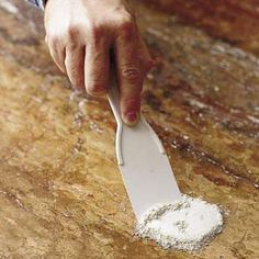How To Remove Stains From Granite Countertops Cleaning Granite Countertops, Granite Cleaner, Quartzite Countertops, Kitchen Countertops, Remove Water Spots, Hard Water Spots, Leather Granite, Dark Granite, Remove Bleach Stains