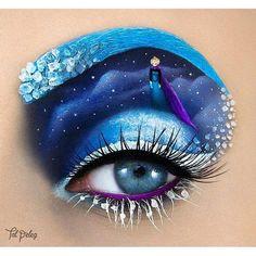 Eye Makeup: Elsa