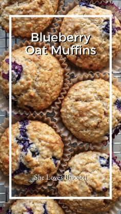 Blueberry Oat Muffins Blueberry Oat Muffins,Snack Attack – Bring on the Munchies! Blueberry Oat Muffins – Yes, you can make a homemade muffin that tastes amazing! Simple, delicious and so much more healthier than. Cranberry Muffins, Blueberry Oatmeal Muffins, Blue Berry Muffins, Apple Oatmeal, Oatmeal Pancakes, Gourmet Recipes, Baking Recipes, Dessert Recipes, Healthy Muffin Recipes