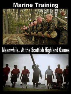 Scottish attitude