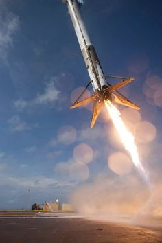 SpaceX Falcon 9 v1.1 ASDS landing attempt 2
