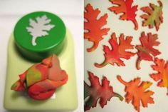 Sister Diane points us to this brilliant use of paper punches for shaping polymer clay from Mega Crafty. What a great way to get clean, crisp shapes in a s