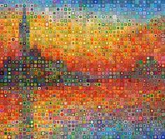 WBK Monet Impressionist Landscape 44x37 | MyFolio