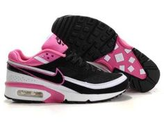 outlet store ff664 ab055 1767   Nike Air Max Classic Bw Dam Svart Rosa Rosa Vit SE018177UNoBlMp