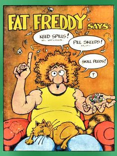 Fat Freddys cat-greatest underground comic