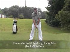 Setting up Correctly to Hit the Driver - YouTube