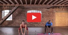 Hit the mat and break a sweat with this workout that combines cardio and strength.