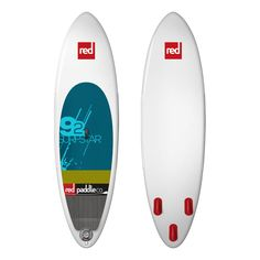"""The name says it all – the 2015 Red Paddle Co 9'2"""" Surf Star inflatable SUP takes everything Red Paddle Co have learnt from previous years and applied it to create a progressive surfing outline, which gives this board the best possible surfing performance they have ever produced."""