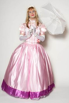 Pink Gowned Sissy