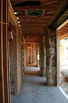 HOW STRAW BALE HOUSES WORK http://tlc.howstuffworks.com/home/straw-bale-house2.htm