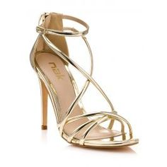Leather Shoes, Sandals, Gold, Label, Women, Fashion, Leather Dress Shoes, Moda, Leather Boots