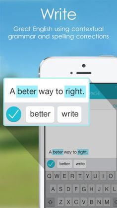 Aplicativo grátis ajuda a corrigir textos em inglês: http://glo.bo/1ph6Oo4