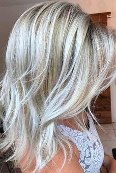 Superb Medium Length Hairstyles for an Amazing Look ★ See more: http://glaminati.com/medium-length-hairstyles-long-thick-hair/