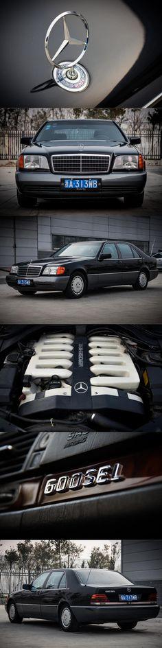 1992 Mercedes-Benz 600 SEL / W140 / 408hp 6.0l V12 / Germany / black / 17-364