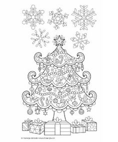 Mandala Coloring Pages, Colouring Pages, Adult Coloring Pages, Coloring Sheets, Coloring Books, Christmas Activities For Kids, Christmas Printables, World Of Color, Christmas Colors