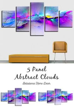 Style: ModernSubject: AbstractMaterial: CanvasType: Canvas PrintingShape: IrregularFrame: With Frame Canvas Prints, Art Prints, Wall Decor, Wall Art, Frame Sizes, Abstract Canvas, Clouds, Shapes, Artwork