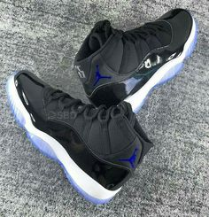 334b4971f37a Air Jordan 11 Space Jam Black Dark Concord-White i have these