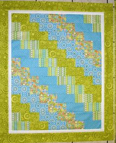 Quilting Lodge Blog: Super Quick & Easy Baby Quilt...Tiny Trails