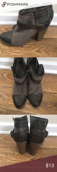 Lauren Conrad heeled booties Lauren Conrad brown ankle booties. Only worn a few times, great condition. LC Lauren Conrad Shoes Ankle Boots & Booties