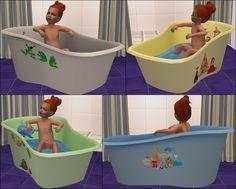 Mod The Sims - Rub-a-Dub Toddler Tub