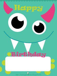 felicitaciones-de-cumpleaños width=                                                                                                                                                                                 Más October Birthday Parties, Boys First Birthday Party Ideas, Baby Boy Birthday, Happy Birthday, Birthday Calendar Classroom, Kids Mania, Little Monster Party, 1st Birthday Photoshoot, Baby Applique