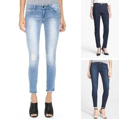 """Paige Denim """"verdugo"""" skinny ankle jeans  28"""" inseam, 10 1/4"""" leg opening; 8 1/4"""" front rise  $169."""