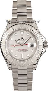 #Rolex #Yacht-Master Stainless Steel and Platinum 16622