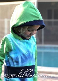 recycle tshirts into hoodies