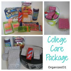 Organized 31: College Care Packages --> hint, hint, people who love me feel free to prepare these!