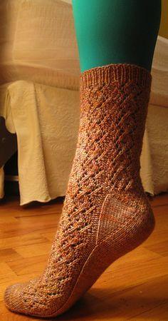Nudibranch socks by Liz Sedmak - free
