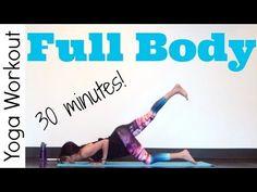 30 minute Full Body - Power Yoga Workout - YouTube