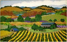 Melissa Shirley Designs | Hand Painted Needlepoint | Cottage