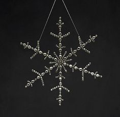 Victorian Glass Snowflake | Restoration Hardware