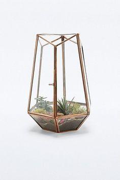 Urban Grow Open Top Copper Terrarium