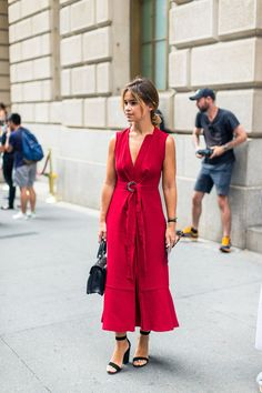 The Street Report  New York Fashion Week - HarpersBAZAAR.com Miroslava  Duma 05f0ccf03251
