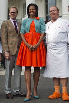 Wal-Mart Moments at the White House     5. The fashionista First Lady. . .