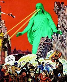 JC-zilla ..this is really scary and no blasphemy intended, it's art that's trippin me out.