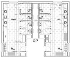 school bathrooms architecture dimensions - Recherche Google