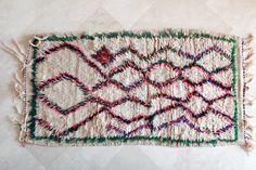 Moroccan boucharouette rug!
