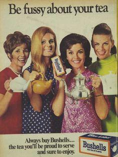 Bushells Tea Advertisement Ad March 1970 Vintage Retro